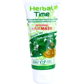 Herbal Time Nettle and Argan mascarilla regeneradora para cabello  200 ml