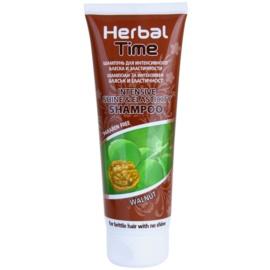 Herbal Time Walnut šampon pro intezivní lesk a pružnost  250 ml