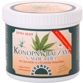 Herbavera Body balsam de canepa cu aloe vera  500 ml