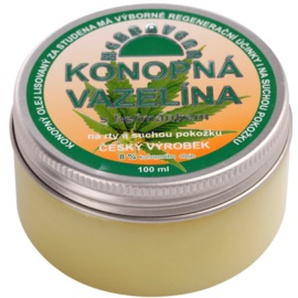 Herbavera Body vaselina de cânhamo com camomilla   100 ml