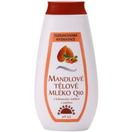 Herbavera Body hydratisierende Körpermilch mit Mandelöl  400 ml