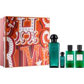 Hermès Eau d'Orange Verte подаръчен комплект IV. одеколон 100 ml + мляко за тяло 40 ml + душ гел 40 ml + одеколон 7,5 ml