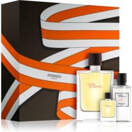 Hermès Terre d'Hermès Gift Set XXIII.  Eau De Toilette 100 ml + Eau De Toilette 5 ml + Aftershave Water 40 ml