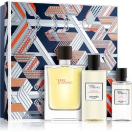 Hermès Terre d'Hermès Gift Set VIII.  Eau De Toilette 100 ml + Shower Gel 80 ml + Aftershave Water 40 ml