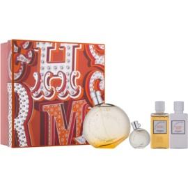 Hermès Eau des Merveilles ajándékszett I. Eau de Toilette 100 ml + Eau de Toilette 10 ml + testápoló tej 40 ml + tusfürdő gél 40 ml