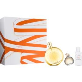 Hermès L'Ambre des Merveilles zestaw upominkowy V.  woda perfumowana 100 ml + woda perfumowana 7,5 ml + mleczko do ciała 40 ml