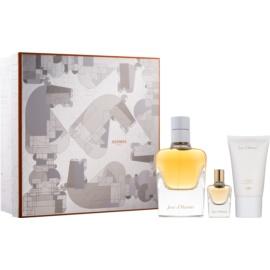 Hermès Jour d´Hermes zestaw upominkowy II. woda perfumowana 85 ml + woda perfumowana 7,5 ml + mleczko do ciała 30 ml