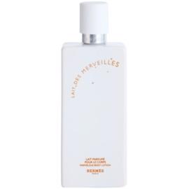 Hermès Eau des Merveilles tělové mléko pro ženy 200 ml tester