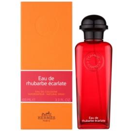 Hermès Eau de Rhubarbe Écarlate acqua di Colonia unisex 100 ml