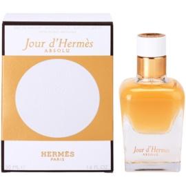 Hermès Jour d'Hermes Absolu parfémovaná voda pro ženy 50 ml plnitelná