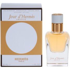 Hermès Jour d'Hermes Absolu parfémovaná voda pro ženy 30 ml plnitelná