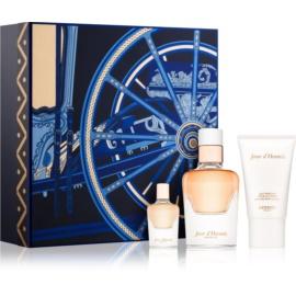 Hermès Jour d'Hermes Absolu zestaw upominkowy II.  woda perfumowana 50 ml + woda perfumowana 7,5 ml + mleczko do ciała 30 ml