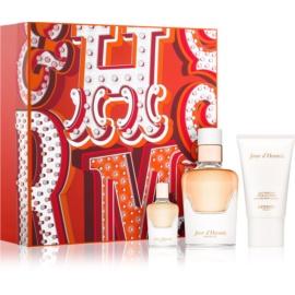 Hermès Jour d'Hermes Absolu zestaw upominkowy IV.  woda perfumowana 50 ml + woda perfumowana 7,5 ml + mleczko do ciała 30 ml