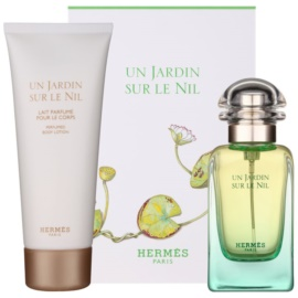 Hermès Un Jardin Sur Le Nil darilni set VIII. toaletna voda 50 ml + losjon za telo 75 ml