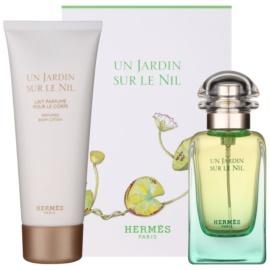 Hermès Un Jardin Sur Le Nil подарунковий набір VІІІ  Туалетна вода 50 ml + Молочко для тіла 75 ml