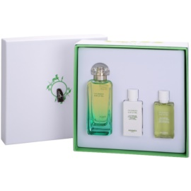 Hermès Un Jardin Sur Le Nil Geschenkset III. Eau de Toilette 100 ml + Körperlotion 40 ml + Duschgel 40 ml