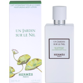 Hermès Un Jardin Sur Le Nil mleczko do ciała unisex 200 ml