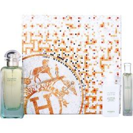 Hermès Un Jardin Sur Le Nil подарунковий набір IV. Туалетна вода 100 ml + 15 ml + Молочко для тіла 40 ml