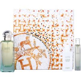 Hermès Un Jardin Sur Le Nil dárková sada IV. toaletní voda 100 ml + 15 ml + tělové mléko 40 ml