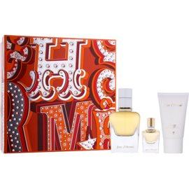 Hermès Jour d´Hermes zestaw upominkowy V.  woda perfumowana 50 ml + woda perfumowana 7,5 ml + mleczko do ciała 30 ml