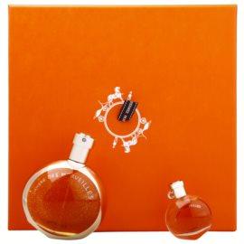 Hermès L'Ambre des Merveilles darilni set II.  parfumska voda 50 ml + parfumska voda 7,5 ml