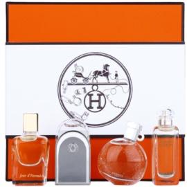 Hermès Mini подаръчен комплект I.  парфюмна вода 7,5 ml + тоалетна вода 3 x 7,5 ml