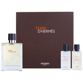 Hermès Terre d'Hermès 2012 Gift Set I. Eau De Toilette 100 ml + Aftershave Balm 40 ml + Shower Gel 40 ml