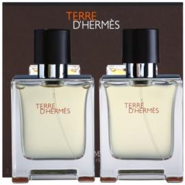 Hermès Terre d'Hermès ajándékszett XXI.   Eau de Toilette 2 x 50 ml