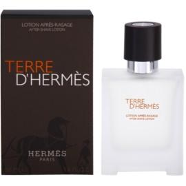 Hermès Terre D'Hermes borotválkozás utáni arcvíz férfiaknak 50 ml