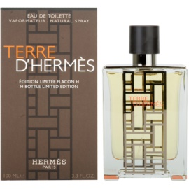 Hermès Terre D'Hermes H Bottle Limited Edition Eau de Toilette pentru barbati 100 ml