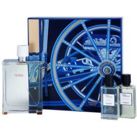 Hermès Terre D'Hermes Eau Tres Fraiche ajándékszett II.  Eau de Toilette 125 ml + borotválkozás utáni arcvíz 40 ml + tusfürdő gél 40 ml