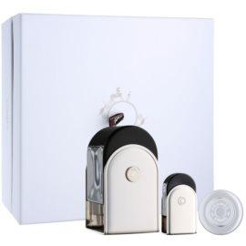 Hermès Voyage d´Hermes darilni set IV. parfum 100 ml + parfum 5 ml + balzam za telo 10 ml