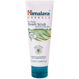 Himalaya Herbals Face Care Scrubs čisticí peeling pro normální až mastnou pleť  75 ml
