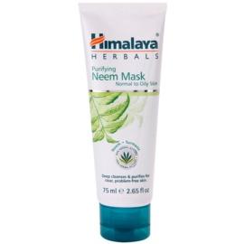 Himalaya Herbals Face Care Masks mascarilla facial limpiadora  para pieles normales y grasas  75 ml