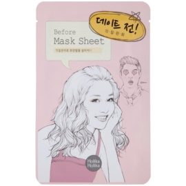 Holika Holika Mask Sheet Before exfoliačná maska na tvár  16 ml