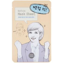 Holika Holika Mask Sheet Before energizující pleťová maska  16 ml