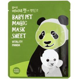 Holika Holika Magic Baby Pet revitalizační a rozjasňující pleťová maska  16 ml