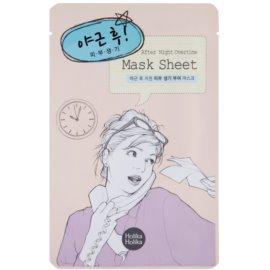 Holika Holika Mask Sheet After oživující pleťová maska  18 ml