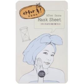 Holika Holika Mask Sheet After mascarilla facial para cerrar los poros  18 ml