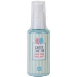 Holika Holika Sweet Cotton matirajoče pršilo za obraz  65 ml