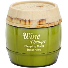 Holika Holika Wine Therapy feuchtigkeitsspendende Maske für die Nacht  120 ml