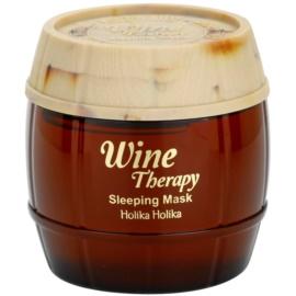 Holika Holika Wine Therapy Maske für die Nacht gegen Falten  120 ml