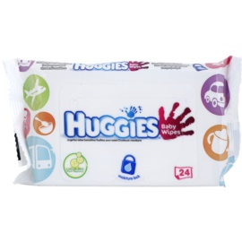 Huggies Baby Wipes finom nedves törlőkendők gyermekeknek  24 db