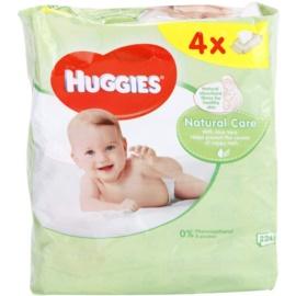 Huggies Natural Care čisticí ubrousky s aloe vera  224 ks
