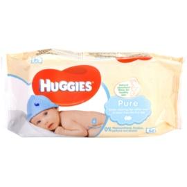 Huggies Pure čistiace utierky pre deti od narodenia  56 ks