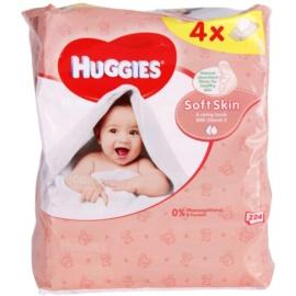 Huggies Soft Skin Reinigungstücher mit Vitamin E  224 St.