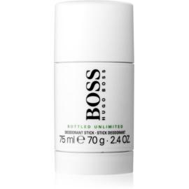 Hugo Boss Boss Bottled Unlimited desodorante en barra para hombre 75 ml