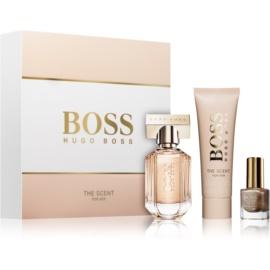 Hugo Boss Boss The Scent confezione regalo VI  eau de parfum 30 ml + crema corpo 50 ml + smalto per unghie 4,5 ml