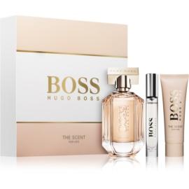 Hugo Boss Boss The Scent confezione regalo V  eau de parfum 100 ml + crema corpo 50 ml + eau de parfum 7,4 ml