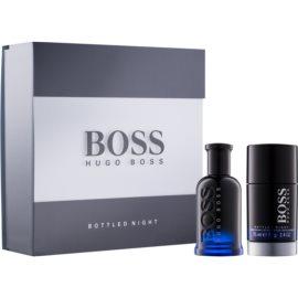 Hugo Boss Boss Bottled Night подаръчен комплект XI.  тоалетна вода 50 ml + деостик 75 ml